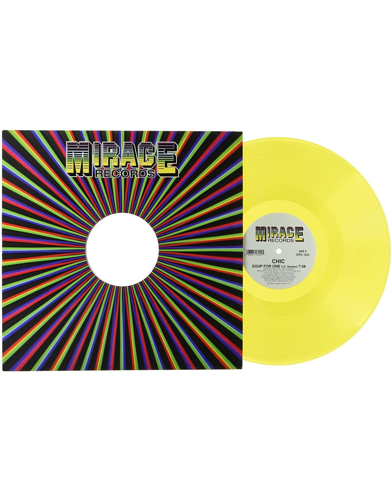 """CHIC - Soup For One / Why (12"""" Single) [Yellow Vinyl]"""