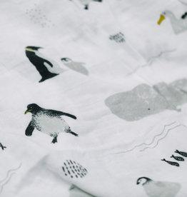 Saranoni Muslin Swaddle 107-1717 South Pole