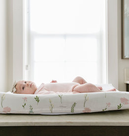 Saranoni Muslin Changing  Pad Cover 107-4040-3 Floral Feilds