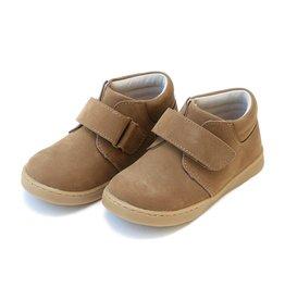 L'Amour Parker Velcro Boot Nubuck Brown  10