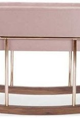 Monte Design Rockwell Bassinet Blush  And Stand One Size