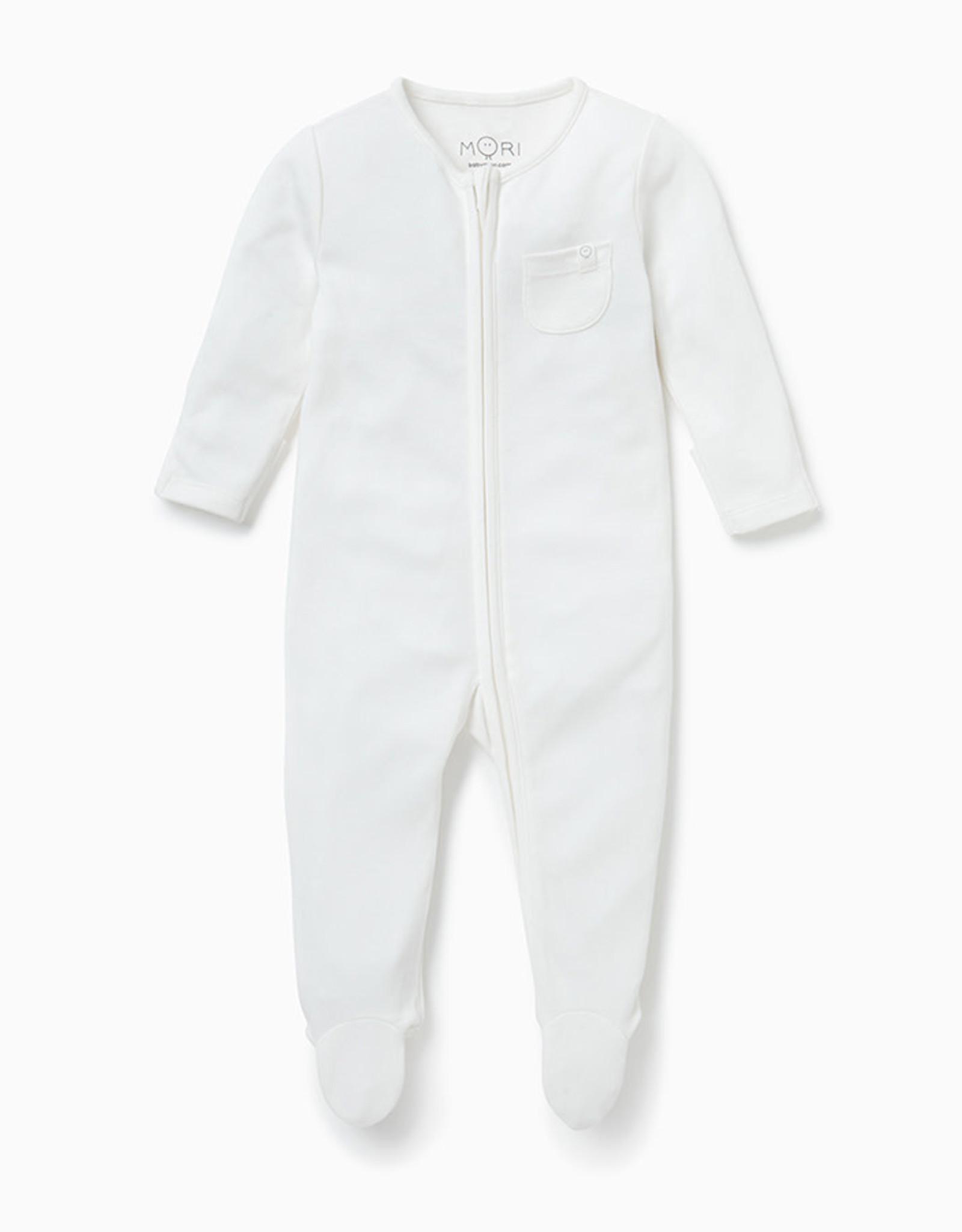 Baby Mori Baby Zip-Up Sleepsuit