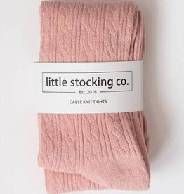 Little Stocking Co Cable Knit Tights