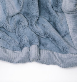 Saranoni Lush Receiving Blanket Storm Cloud