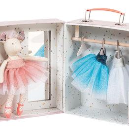 Moulin Roty Etait Une Fois -Ballerina Mouse Valise