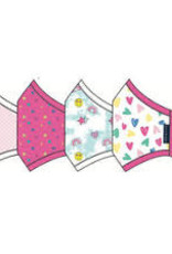 Andy and Evan Mask Girls Pink Stars 4 pk.