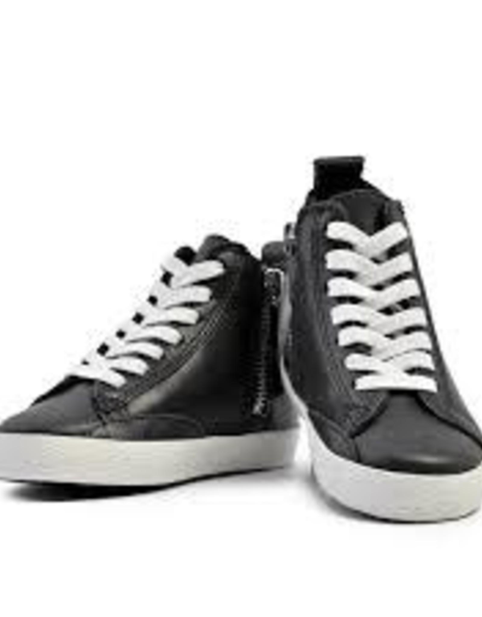 Piper Finn Piper Finn BlackHi Top Sneakers