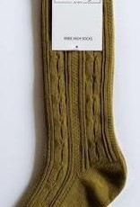 Little Stocking Co Cable Knit Knee High Socks