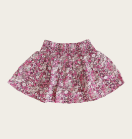 Jamie Kay Frill Skirt -Garden Print