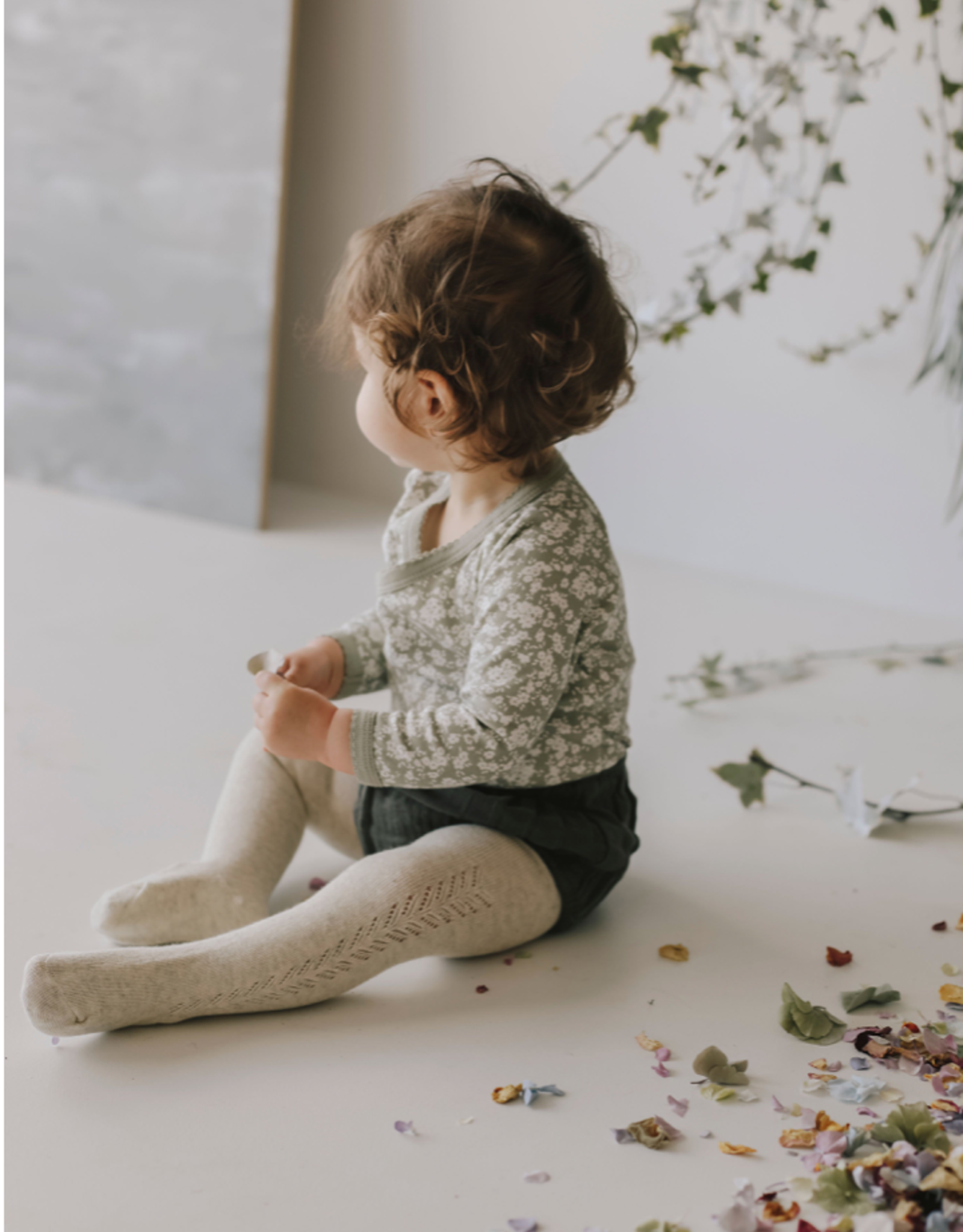 Jamie Kay Lace Tights Toddler