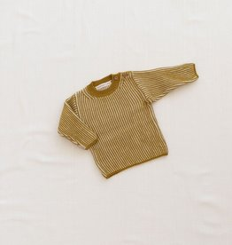 Fin & Vince Knit Ribbed Sweater