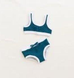 Fin & Vince Ribbed Bikini