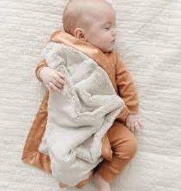 Saranoni Sun And Sea Satin Back Mini Blanket