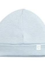 Baby Mori Hat Blue Stripe 0-3M