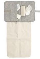 Storksac Organic Tote Pale Grey Raindot