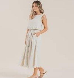 Rylee +Cru Striped Oceanside Skirt