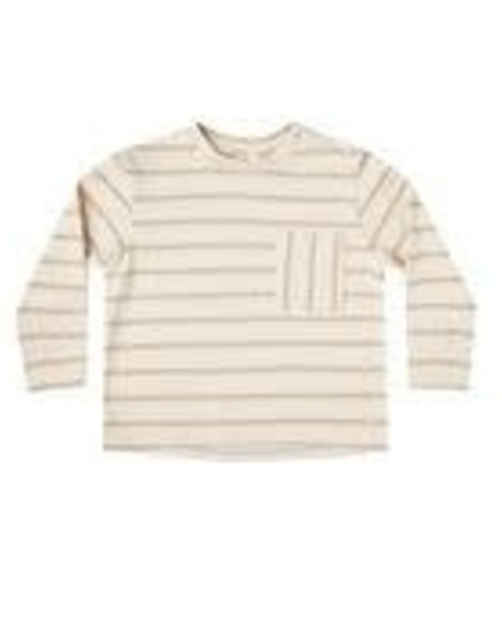 Rylee +Cru Striped Long  Sleeve Skater Shirt