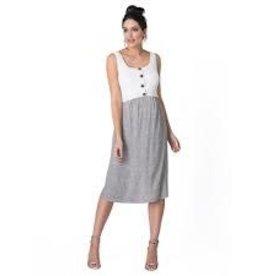 Seraphine Bristol Button Dress
