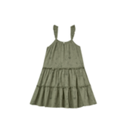 Rylee +Cru Potted Plants Tiered Jersey Dress