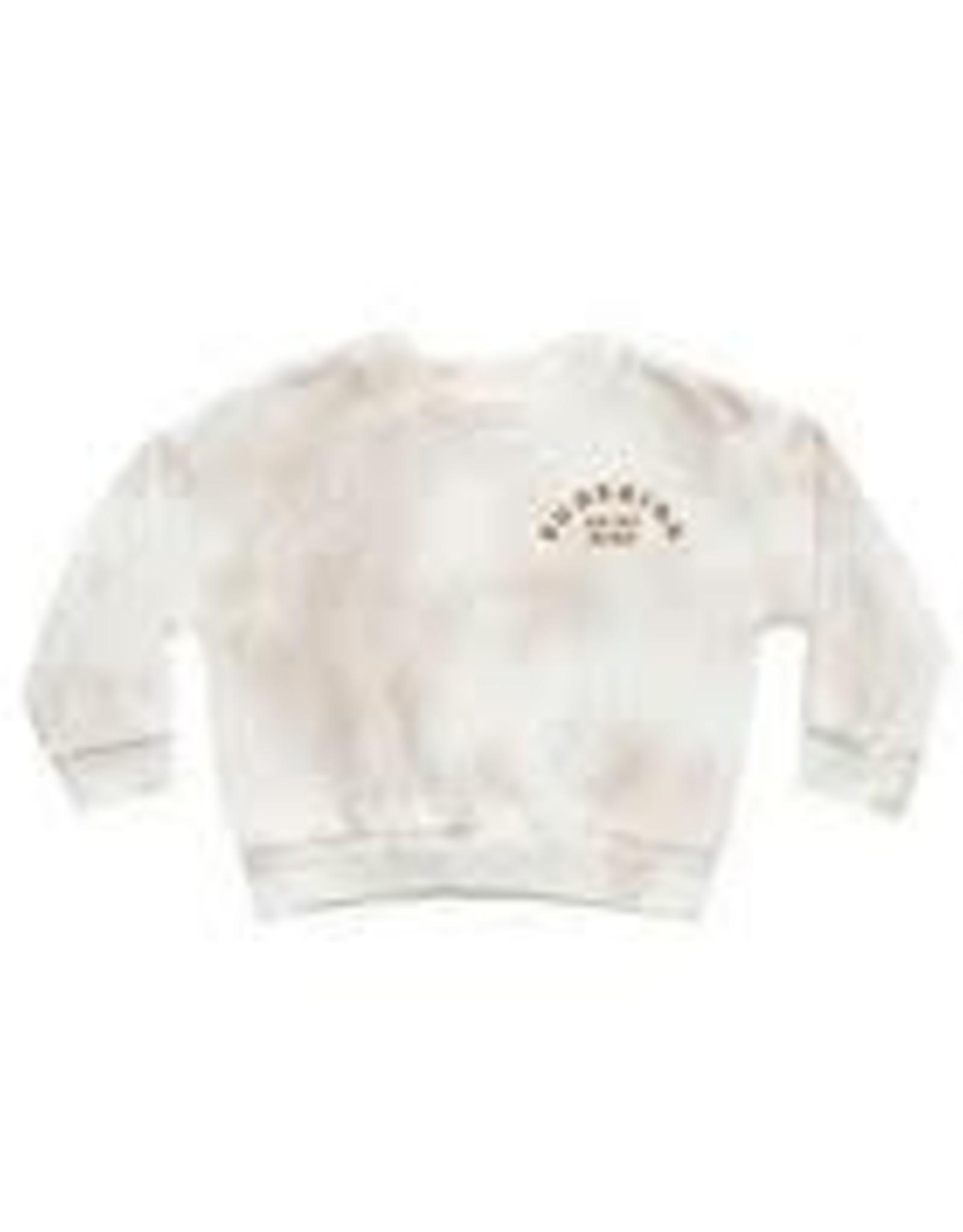 Rylee +Cru Tie Dye Crew Neck Sweatshirt