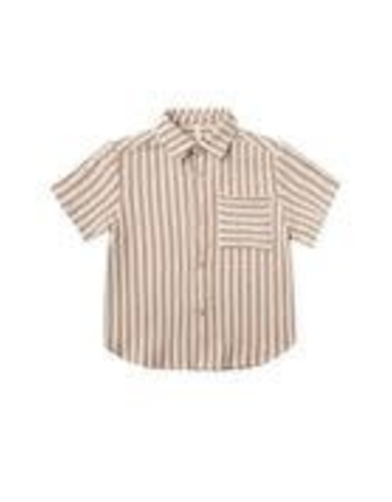 Rylee +Cru Striped Collared Shirt