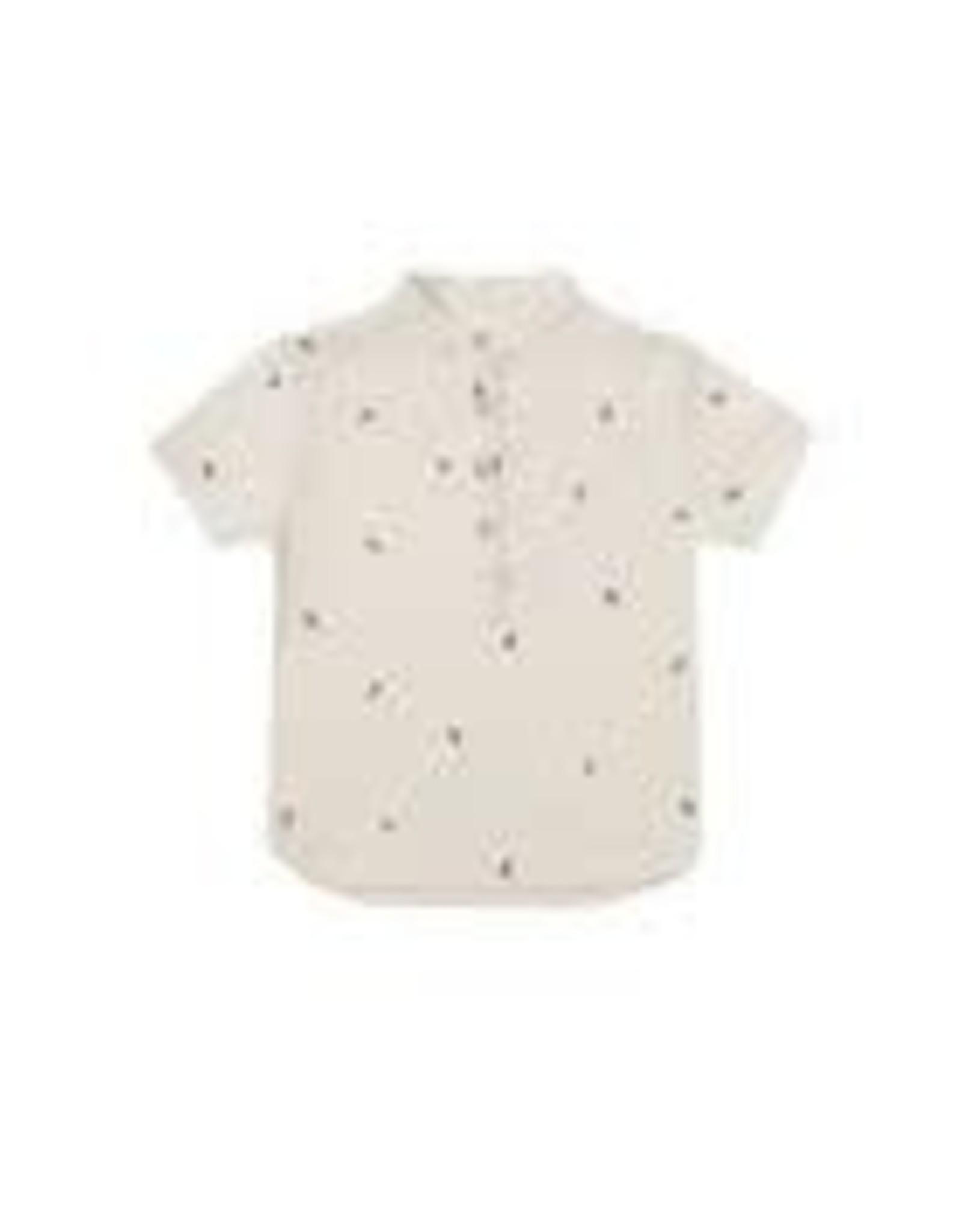 Rylee +Cru Bee's Short Sleeve Mason Shirt