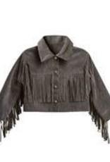 Rylee +Cru Fringe Jacket