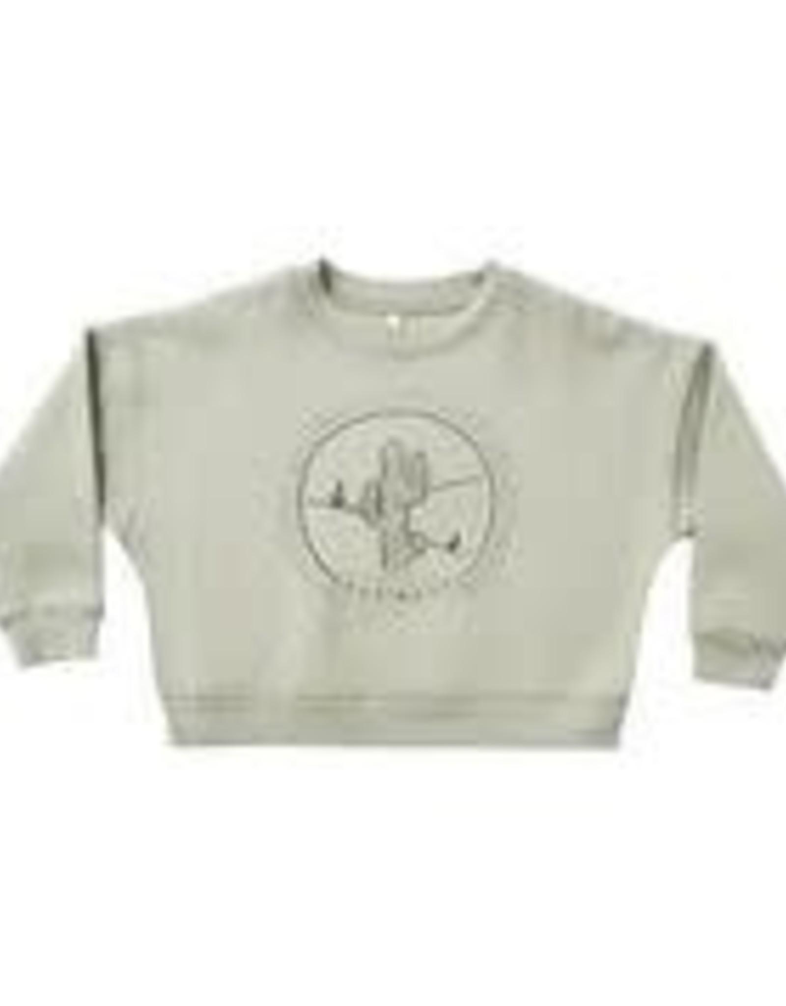 Rylee +Cru Boxy Fleece Pullover