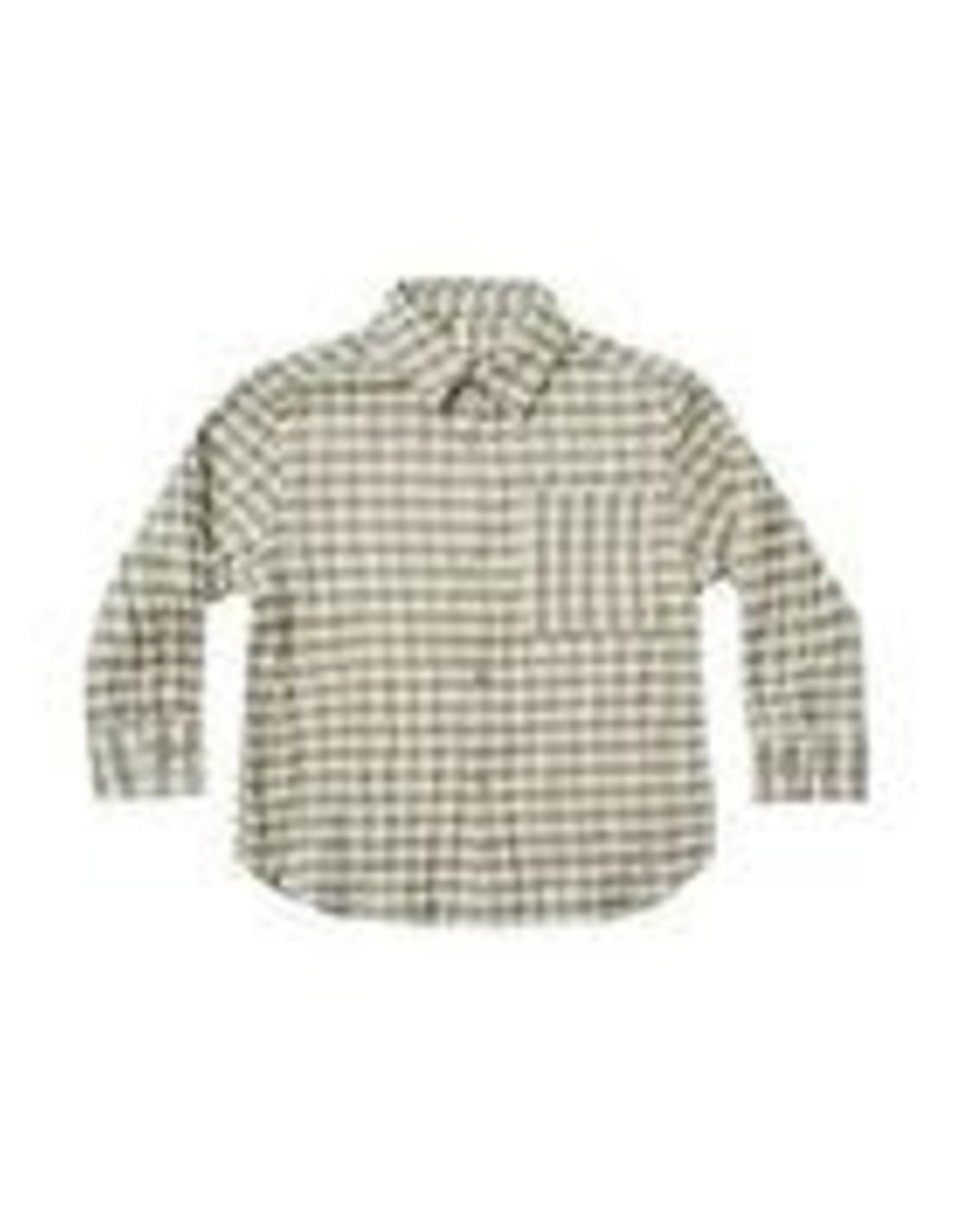 Rylee +Cru Olive Collared Shirt