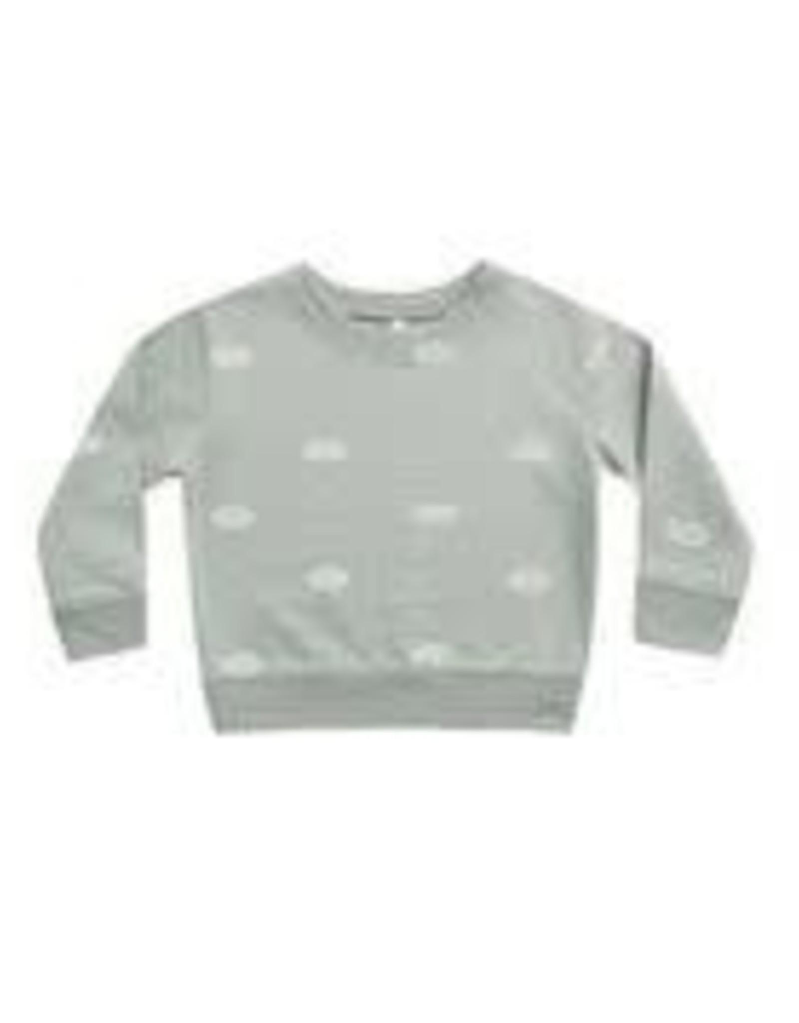 Rylee +Cru Clouds Sweatshirt