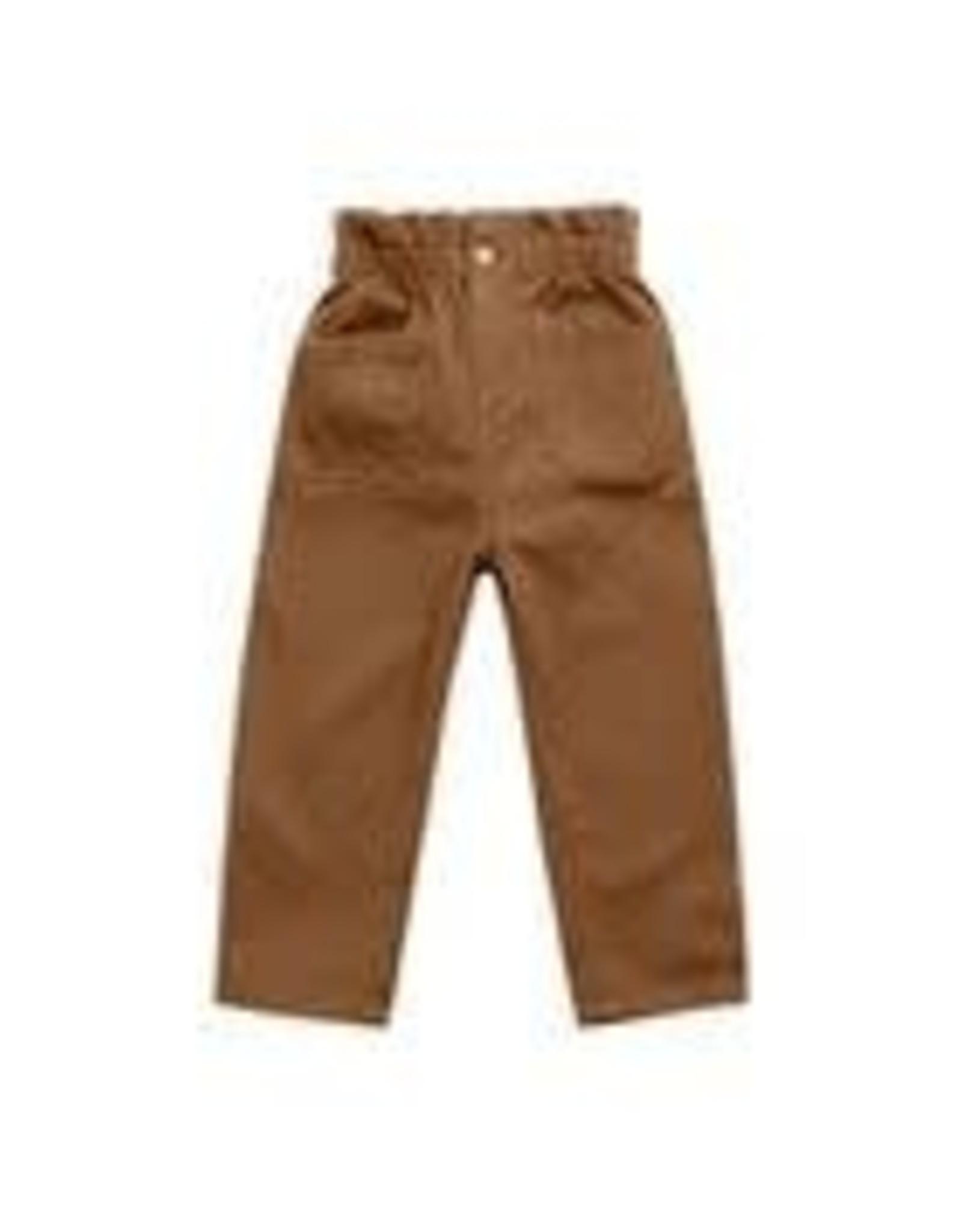 Rylee +Cru Paper Bag Pants