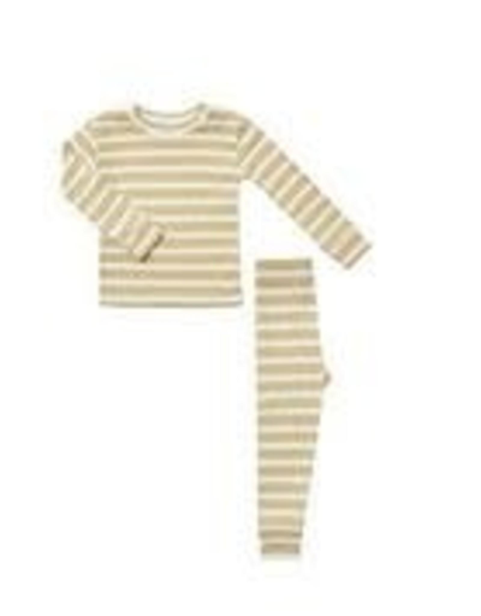 Rylee +Cru Ribbed Pajama Set
