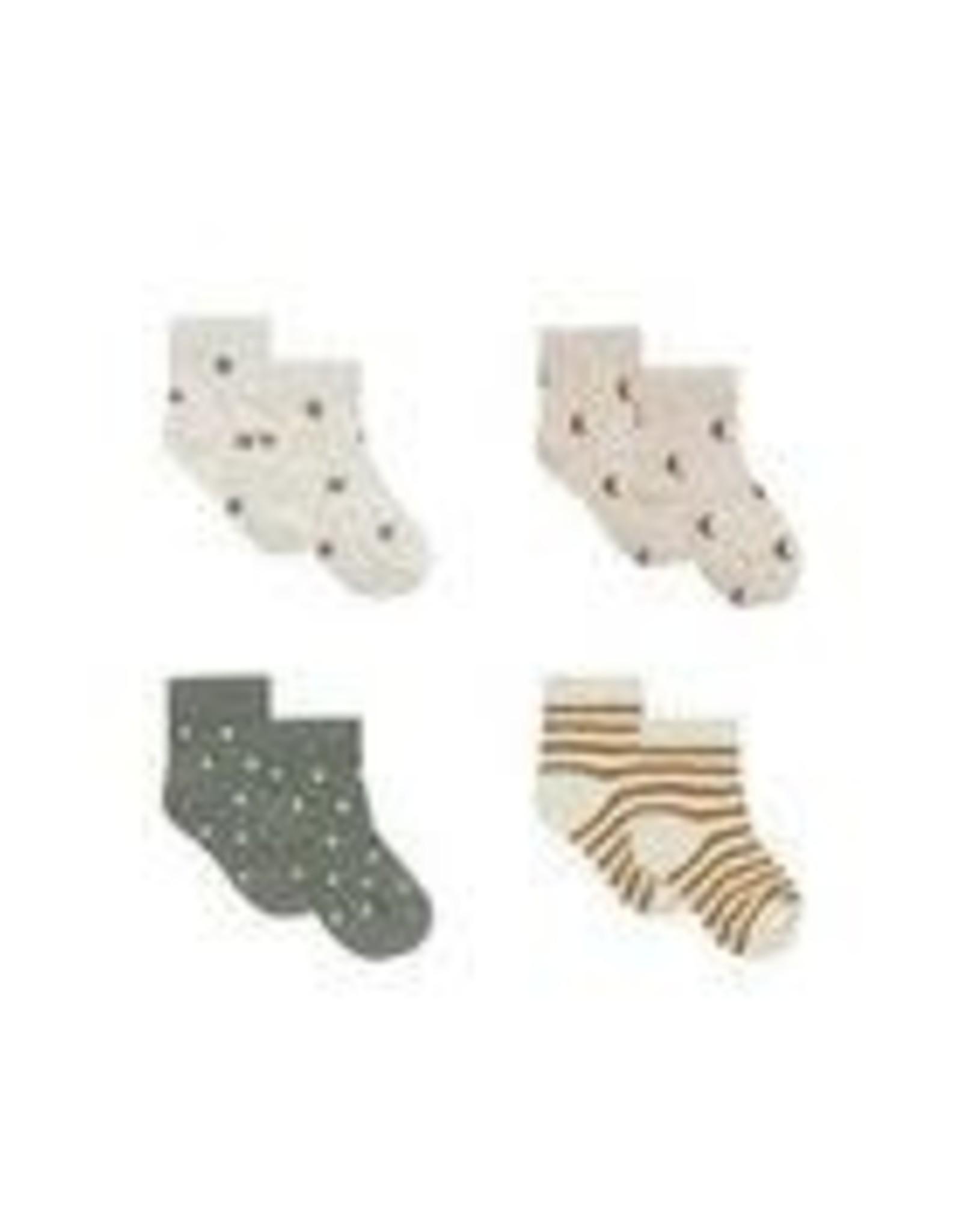 Quincy Mae Printed Sock Set