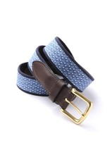 Vineyard Vines Belt with 'P' and paws