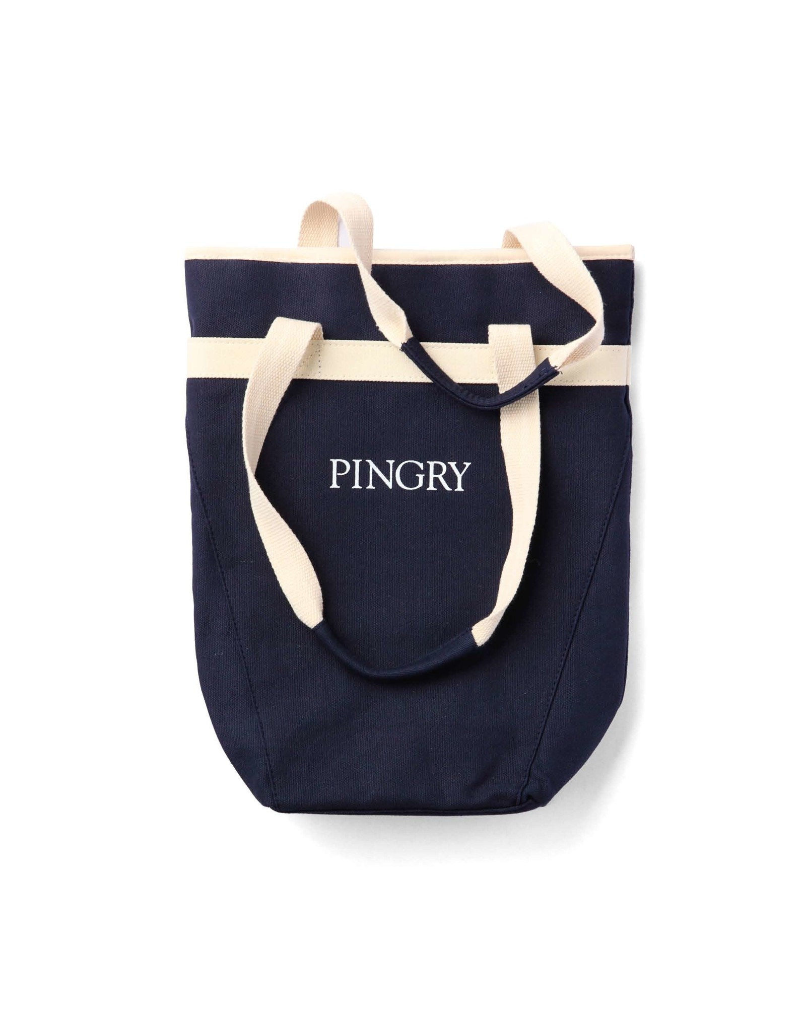 Pingry Wine tote-Navy