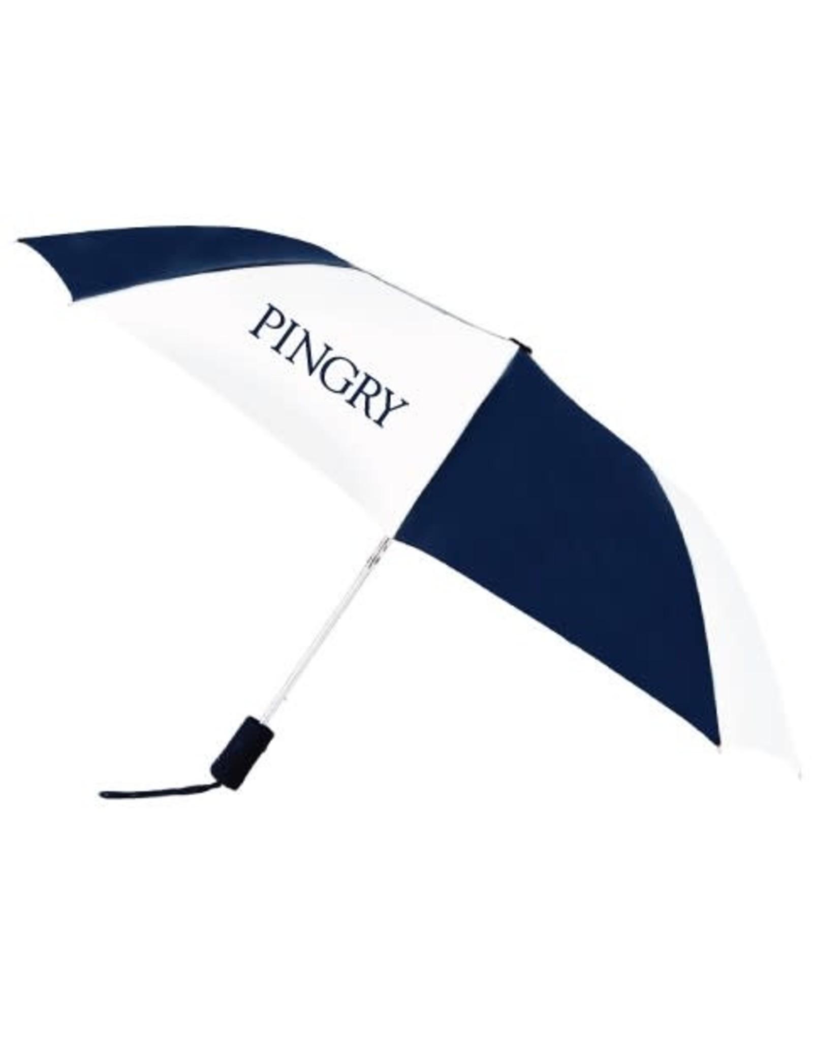 Rainkist Star Nylon Umbrella-43 inch-Navy/White