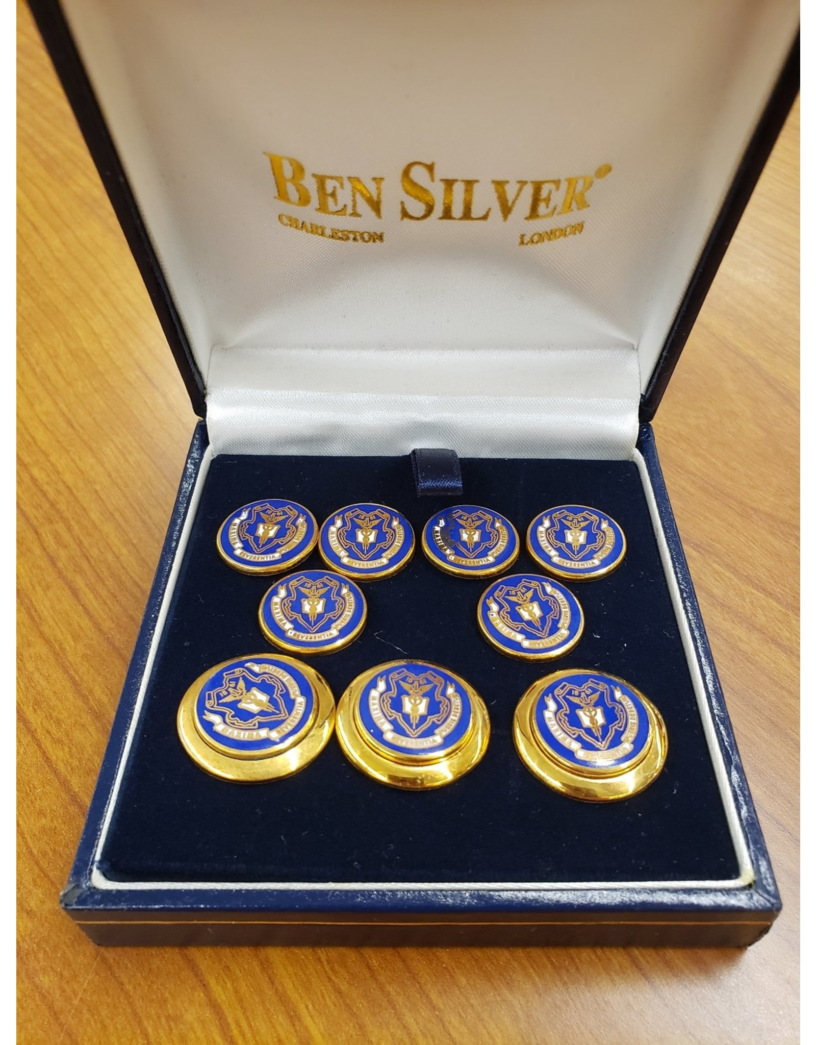 Blazer Buttons-with Blue Seal