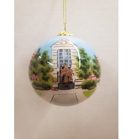 Ornament-painted glass
