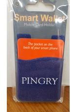 Phone Wallet-Blue Glitter-One size