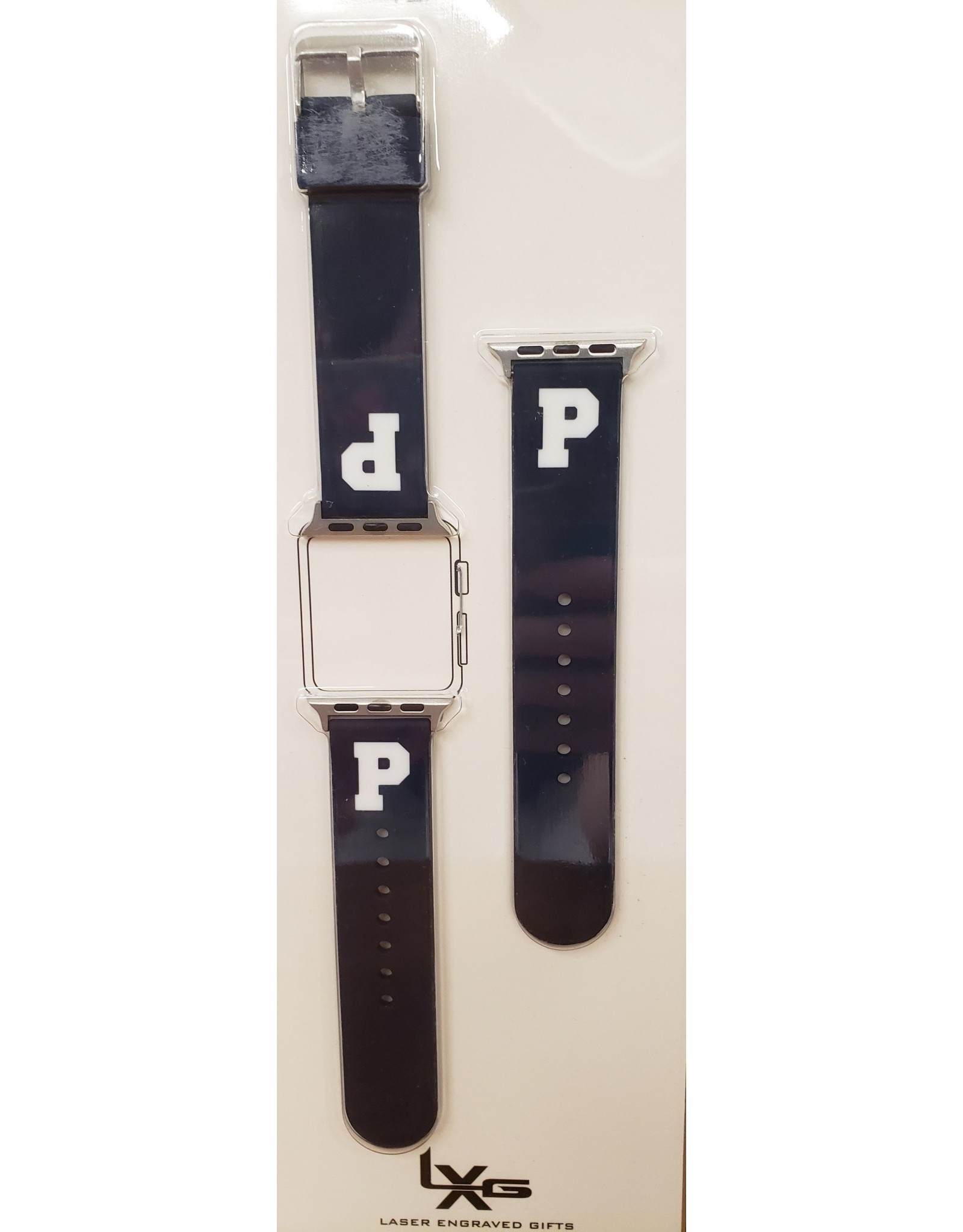 Silcone Apple Watch Strap-Blue-38/40 mmWA-1