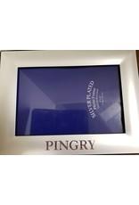 Frame-silver/laser engraved-4x 6