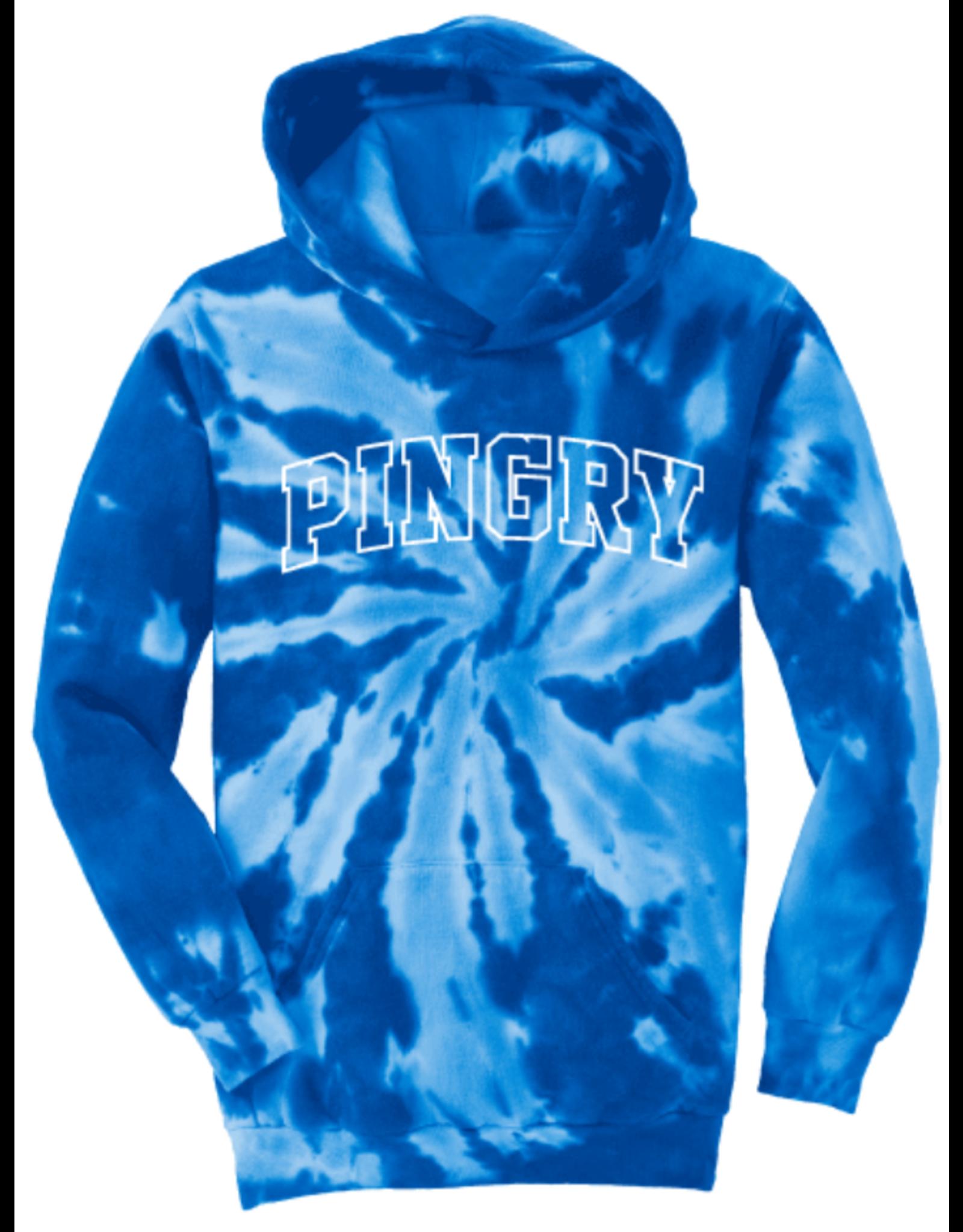 Tie Dye Pullover Hood-youth