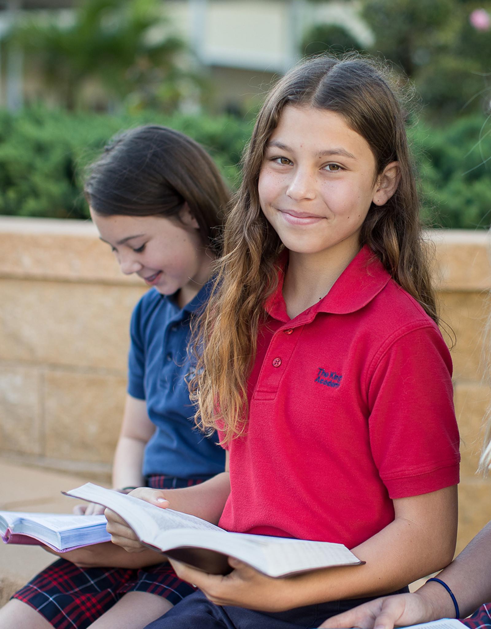 School Apparel Short Sleeve Polo - Unisex