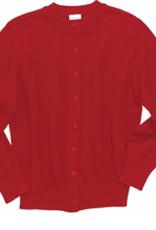 Elderwear Red Cardigan Sweater