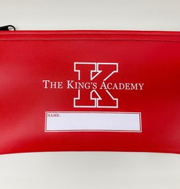 BankSupplies, Inc. Red Pencil Bag