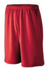 Alston's Embroidery PE Shorts - Red