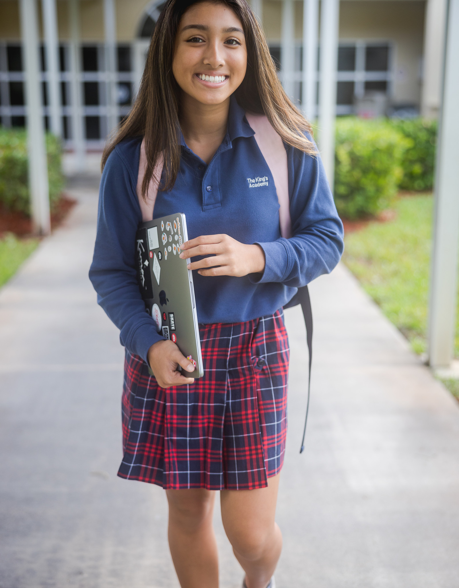 Elderwear High School Skort - Plaid