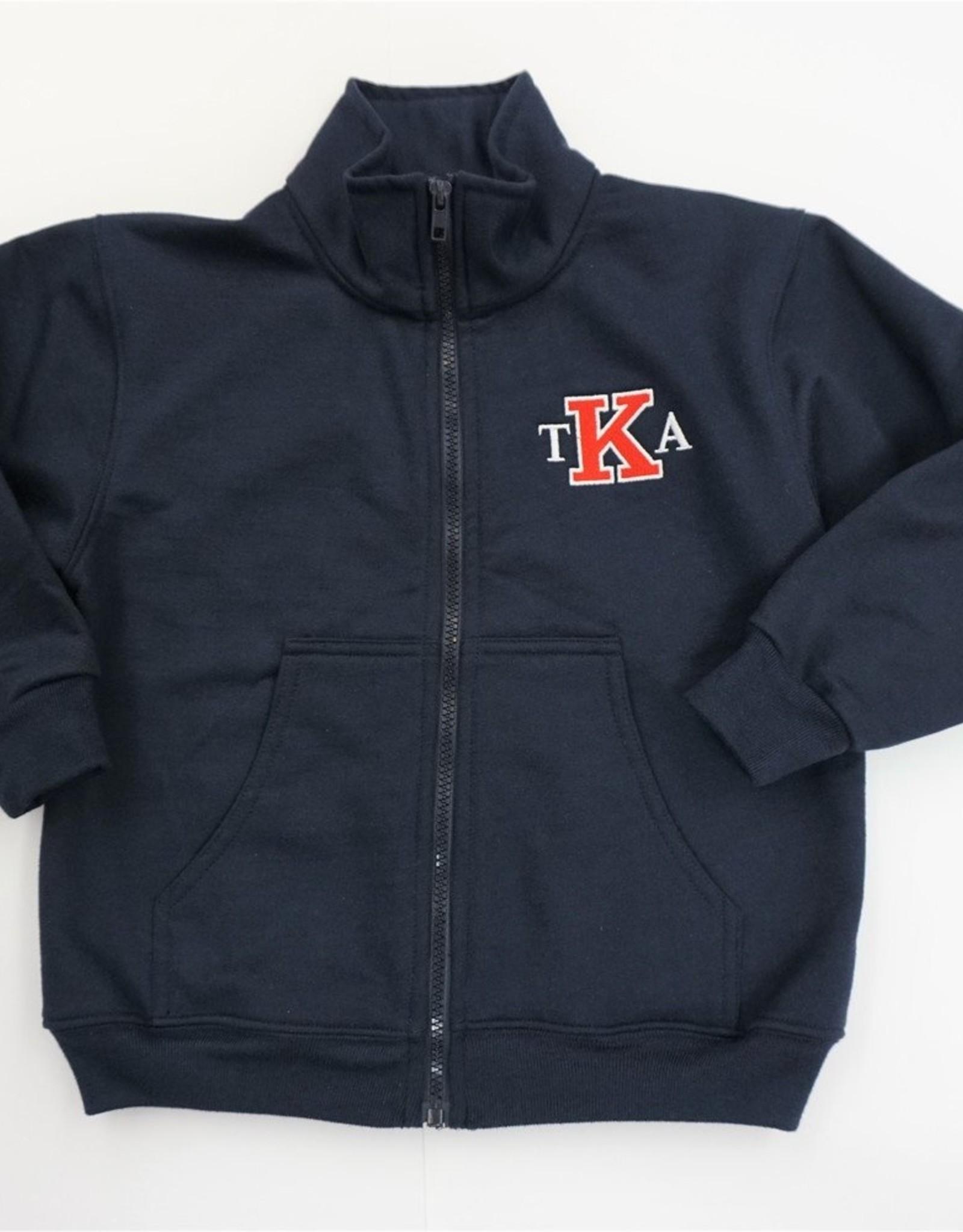 SunshineWear Navy Sweatshirt Jacket
