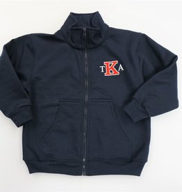 SunshineWear Navy Sweatshirt Jacket