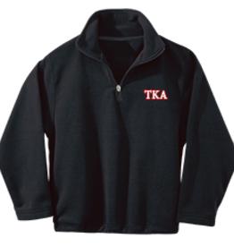 Elderwear Elderwear Navy Fleece 1/4 Zip - Youth XS